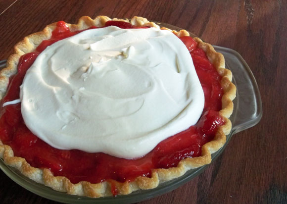 creamy strawberry pie, strawberry recipe, dessert recipe