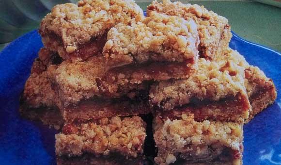 Apple Berry Streusel Bars Recipe