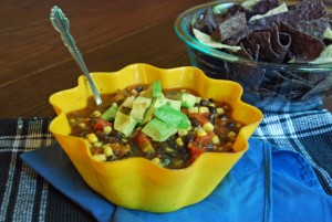 black bean salsa, beans and corn salsa, bean recipes, healthy recipes, party recipes, appetizer dip, digitize recipes, online cookbook