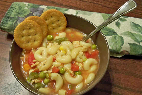 Chicken Noodle Soup - Recipes for Fighting the Flu
