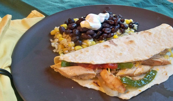 chicken fajitas, grilling recipe, chicken recipe, dinner idea