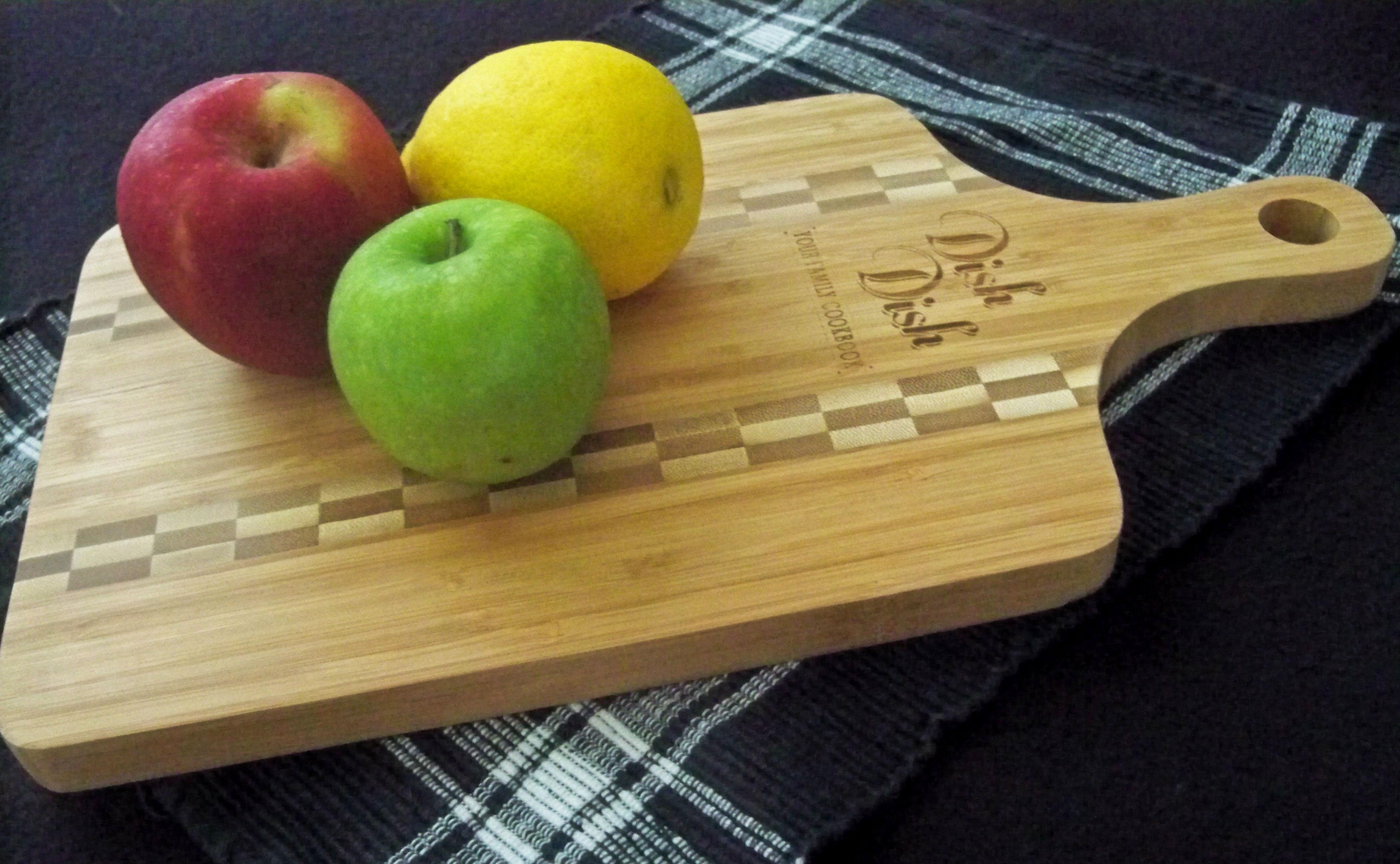 Bamboo Cutting Board Giveaway