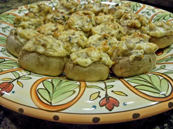 stuffed mushrooms, appetizer recipe