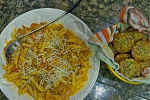 pasta recipe, penne with sausage and vodka sauce