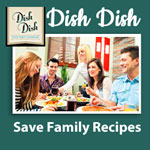 Dish Dish Family Button