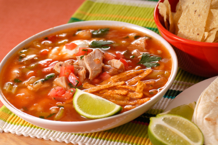 chicken vegetable tortilla soup recipe