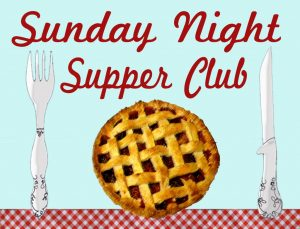 supper club, dinner club, recipe club, gourmet club, cooking with friends, eating with friends, community, neighborhood