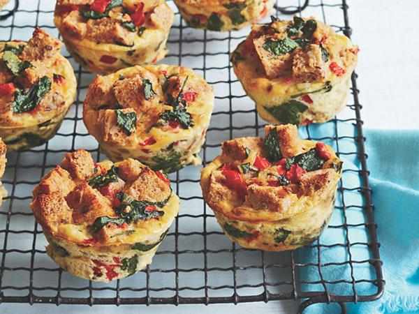 breakfast stuffins, stuffed muffins for breakfast on the go, recipe