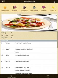 app release, Dish Dish online cookbook app, recipe page screen shot, favorite recipes