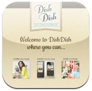 DishDish app, Dish Dish app, online cookbook