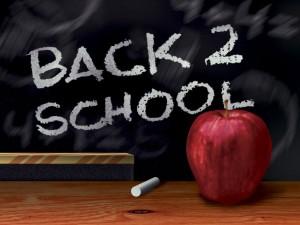 back to school chalkboard, easy recipes
