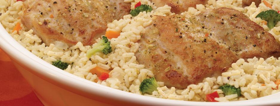 savory chicken rice skillet, chicken recipe, one-pot meal, one-dish meal, healthy recipe, chicken recipe, organize recipe online