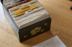 grandma's recipes, grandma's recipe box, recipe box, family recipes, family heritage, save family recipes, digitize recipes, digital cookbook