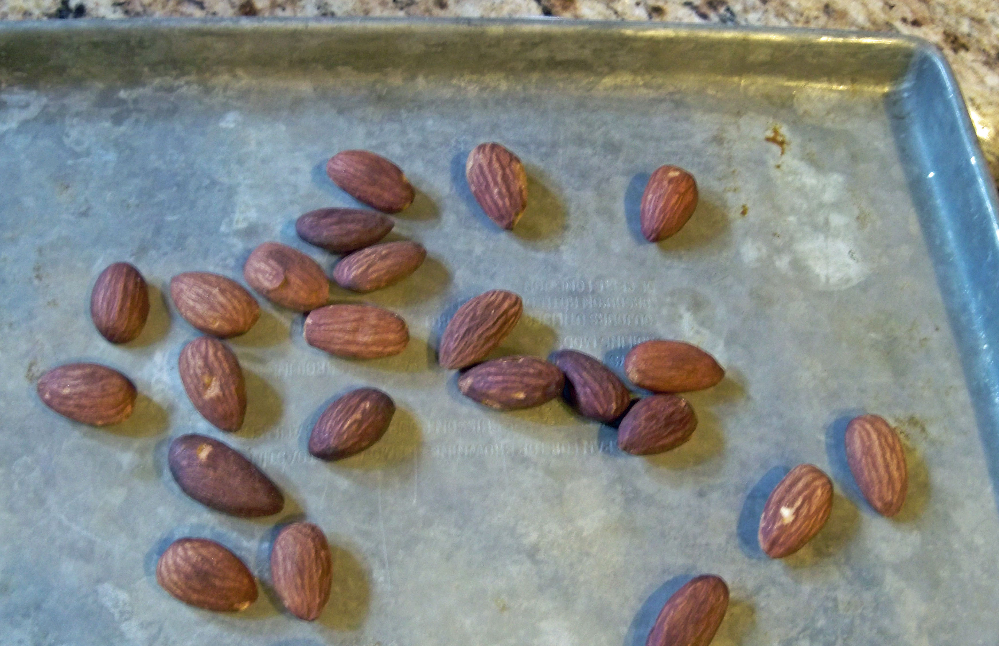 how to cook almonds on stove
