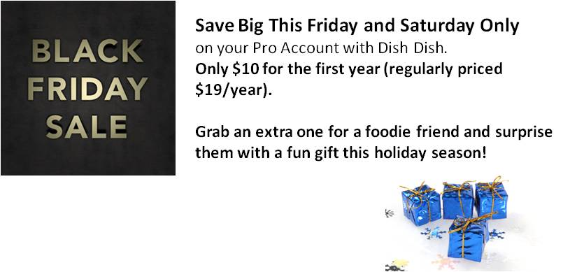 2013 Black Friday Sale, Shop Small Discount, digitize recipes, small business, black friday coupon, digital cookbook, foodie gifts, gift idea, holiday gift, foodies