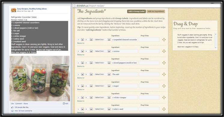 recipe importer tool, how to import recipes, dish dish recipe import tool, how to digitize recipes, digital cookbook, online cookbook, family recipes