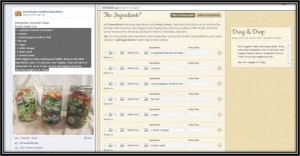 recipe importer tool screen image, import recipes, recipe importer,