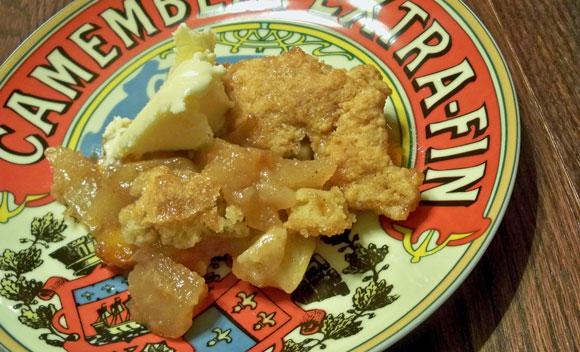 Pear Apple Peach Pandowdy Recipe