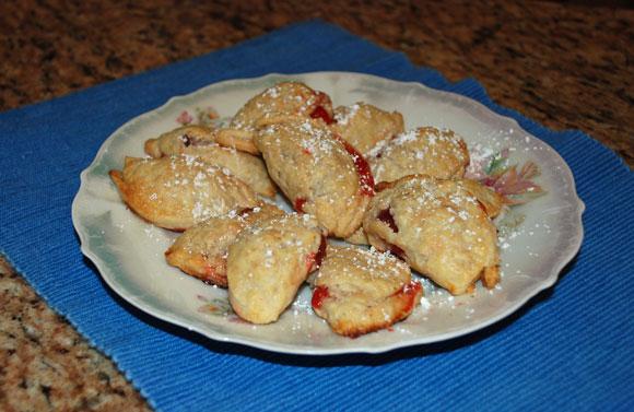 sweet empanadas with cherry filling, dessert recipes, empanadas recipe, mexican recipes, cinco de mayo recipes, dish dish, dishdish
