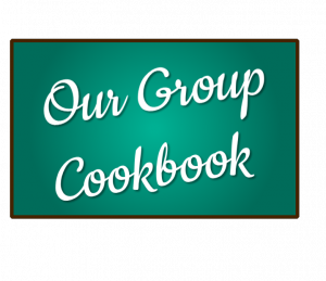 community cookbook, group cookbook, shared cookbook, online cookbook, dish dish, organize recipes online