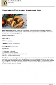 dish dish online cookbook pdf page, save cookbook as pdf, organize recipes online, online recipe organizer