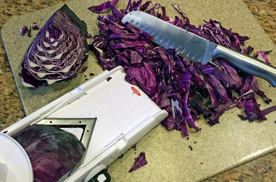 red cabbage, purple cabbage, shredded cabbage, chopped cabbage, cabbage recipes, healthy recipes, online recipe organizer app