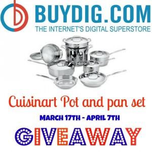 cuisinart cookware, cuisinart giveaway, online recipe organizer