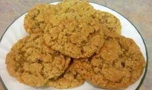 applesauce oatmeal cookies, dessert recipes, cookie recipes
