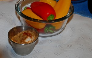spicy sour cream, mexican recipes, cinco de mayo, peppers and sour cream