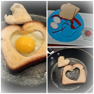 mothers day brunch ideas, heart shaped egg in toast, breakfast recipes, mothers day
