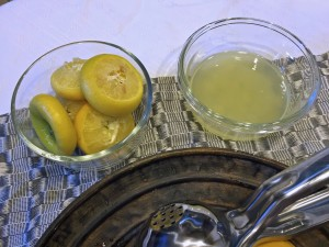 juiced lemon halves, juice extractor, lemon juice, lemon recipes
