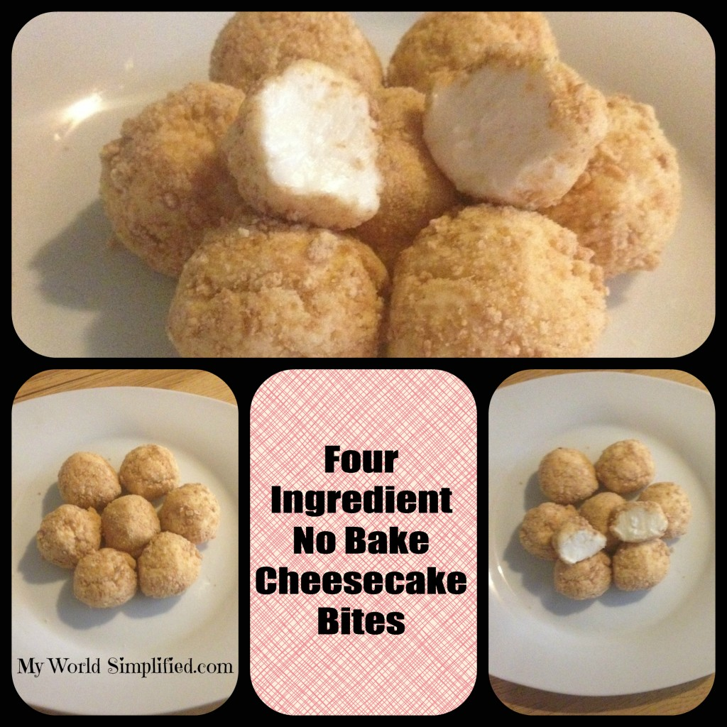 no bake cheesecake bites, dessert recipe, easy recipe