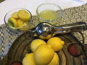 lemon squeezer, lemon pres
