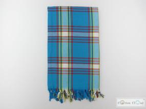 pesthemal blue picnic blanket, table runner
