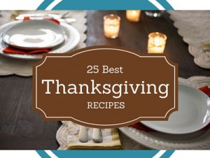 25 Best Thanksgiving Recipes, easy holiday recipes