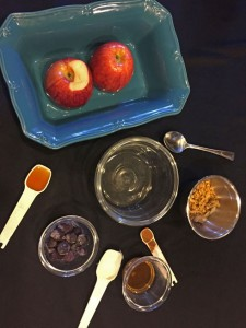berry baked apples, easy dessert recipe, apples and berries