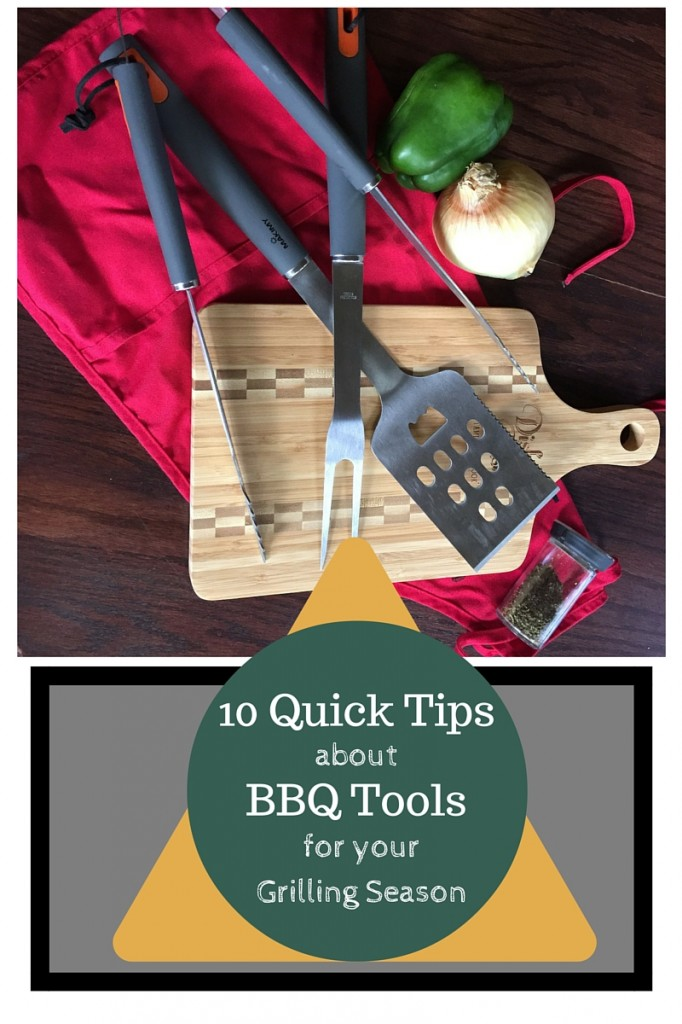 10 Quick Tips about BBQ Tools for your Grilling Season | Grill, Recipes