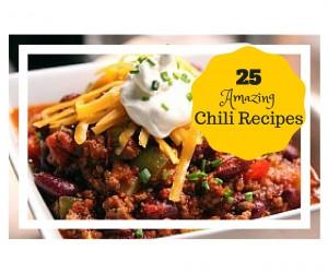 25 amazing chili recipes