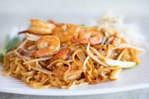 Shrimp and Pasta by Unsplash