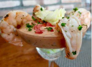 Shrimp and Dip in Martini Glass Unsplash - Shrimp Recipes