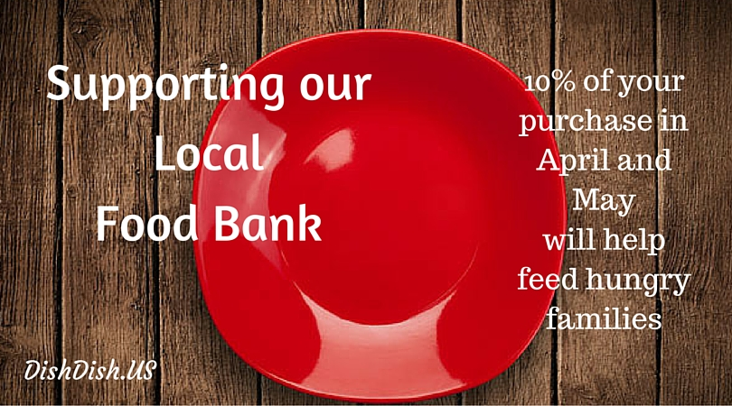 support our local food bank, feed the hungry