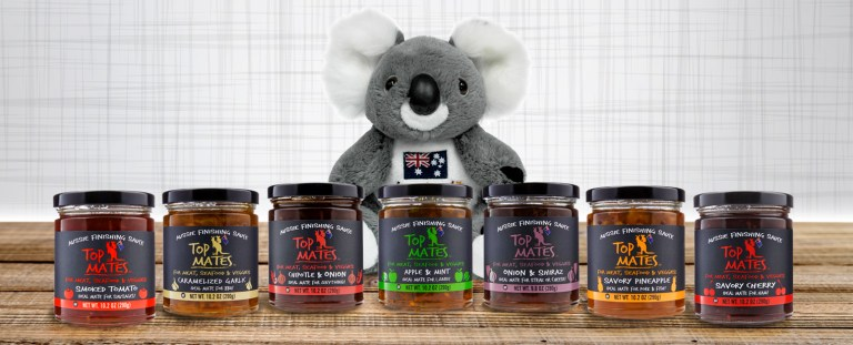 aussie finishing sauces for marinade or cooking