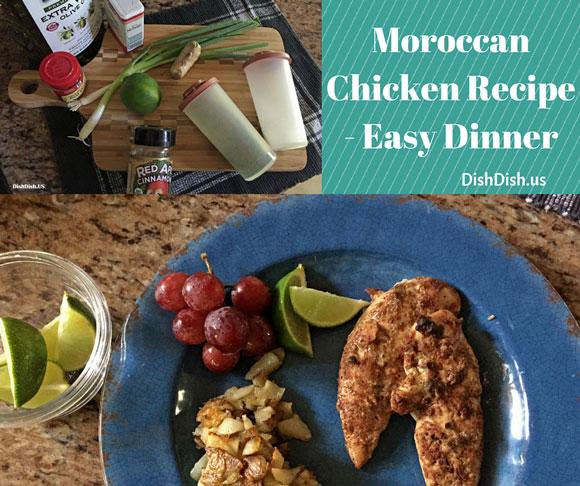 Moroccan Chicken Recipe for Easy Dinner