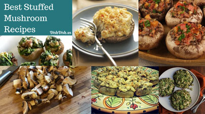 Best Stuffed Mushroom Recipes | Dish Dish Online Recipe Organizer