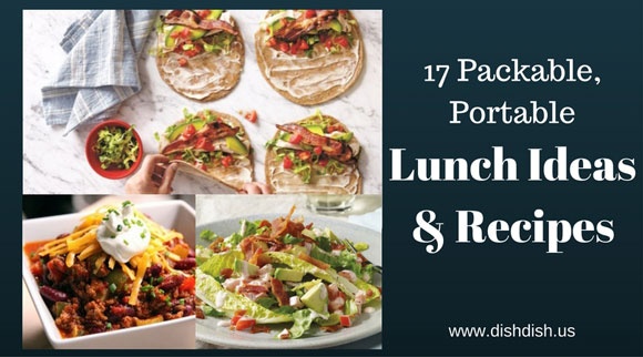 17 packable, portable lunch ideas and recipes