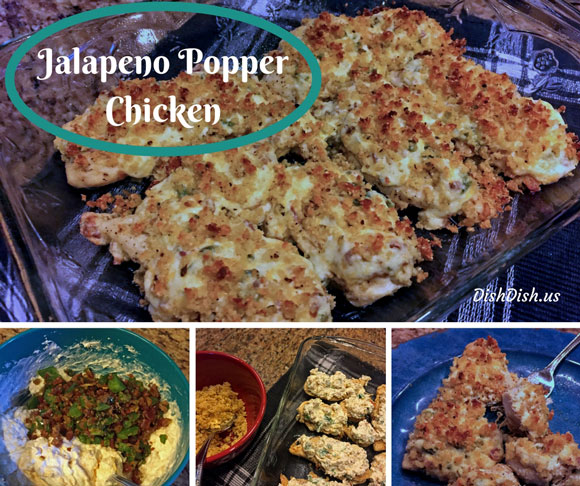 Baked Jalapeno Popper Chicken Recipe