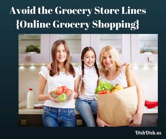 Avoid Grocery Lines with Online Grocery Store Shopping
