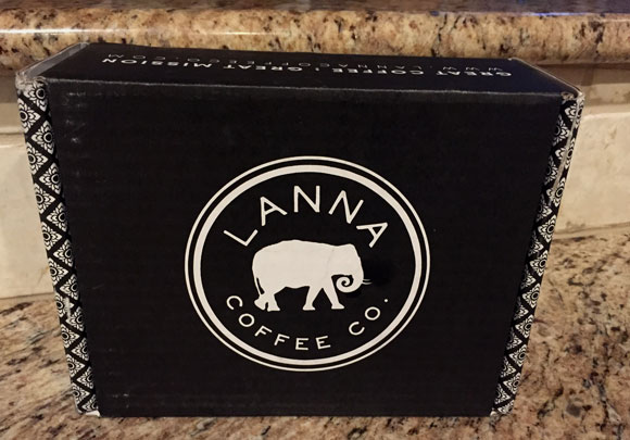 Lanna Coffee subscription box unopened