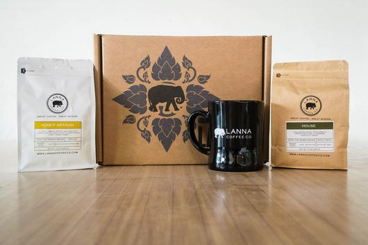 lanna coffee christmas gift box