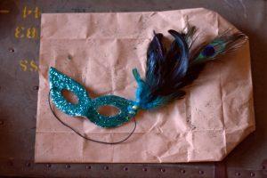 Mardi Gras DIY Mask by Aida Mollenkamp